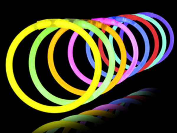 8'' glow bracelet glowing wristband