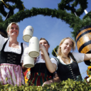 Beer Festival In Germany