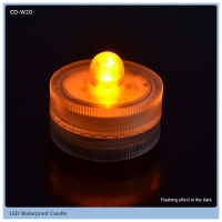 Wholesale weeding decoration led float candle