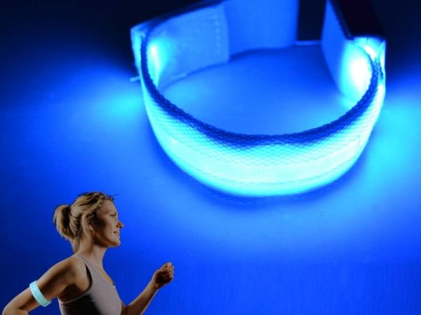 sport led safety wristband