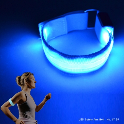 sport led safety wristband