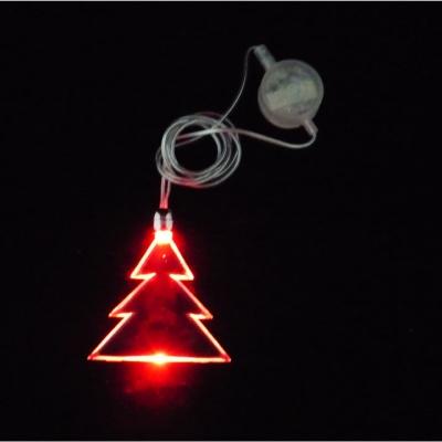 LED flashing magnet necklace