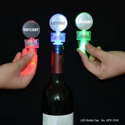 led bottle cap