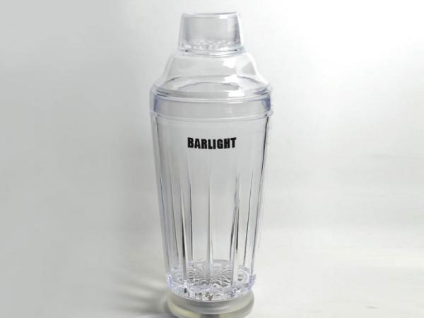 Customized Bar LED Flashing Cocktail Shaker