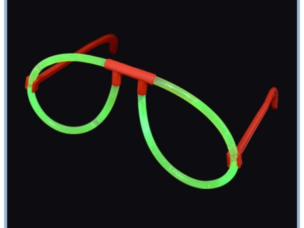 Good promotion blue color glow glasses