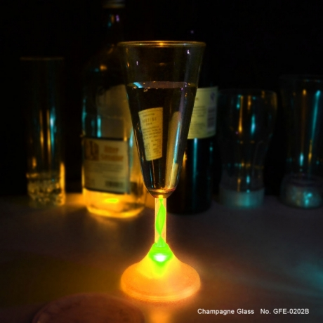 Flashing LED Champagne Cup for Wedding