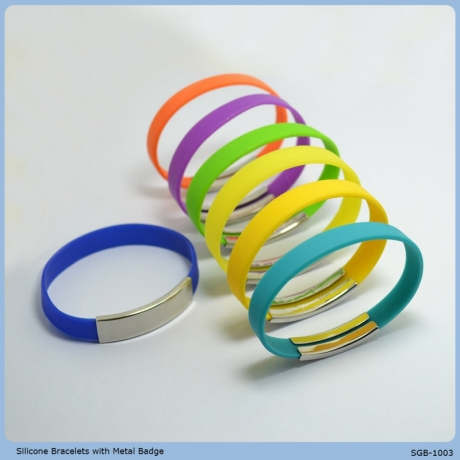 High quality various color siicone bracelets