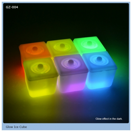 New Technology Hot Sale Glow Cube for Drinks