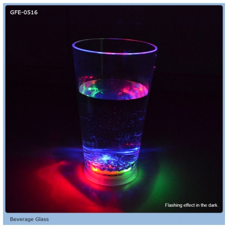 400ml Volume Colorful LED Flashing Cup