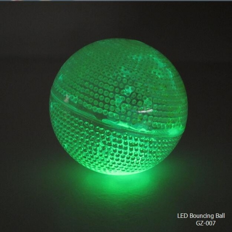 Good design colorful chemical glow bouncing ball
