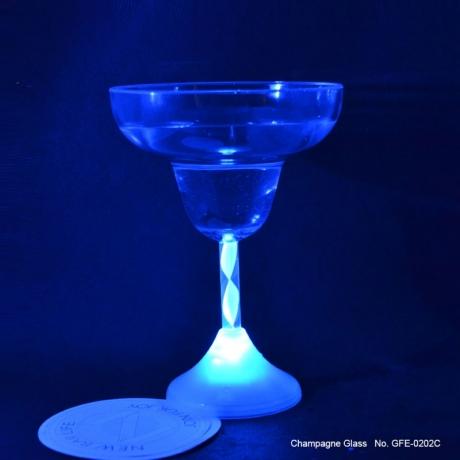 Bar Light 230ml volume flashing colorful light led margarita glass