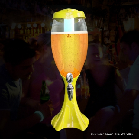 Wholesale good quality LED Light beer tower for Pub