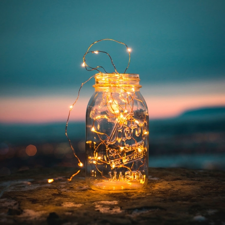 Bottle plug shape party decoration LED string light