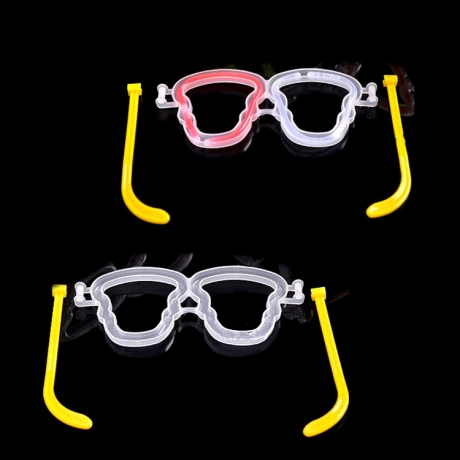 Halloween ghost Luminous glasses