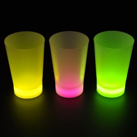 1.5oz Glow Light Up Shot Glass For Bar