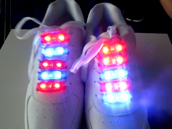 Cheap LED shoes light for cool running