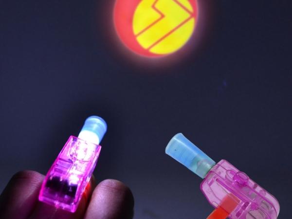 Good quality led party laser finger light rings