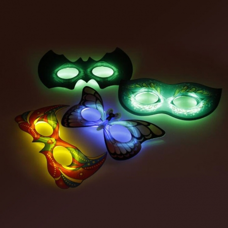 Fancy glowing mask for costume party