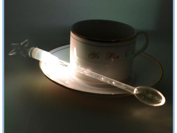 Colorful LED Flashing Coffee spoon