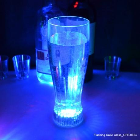 650ml Volume Flashing Cola Glass