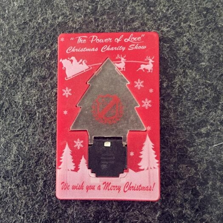 Christmas decoration custom led credit card torch for sale