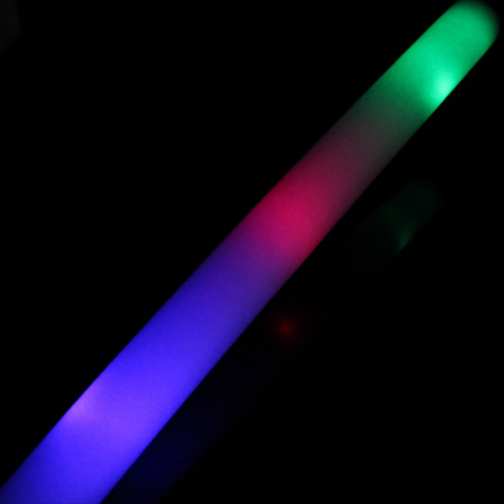Music concert favor battery operate led foam stick