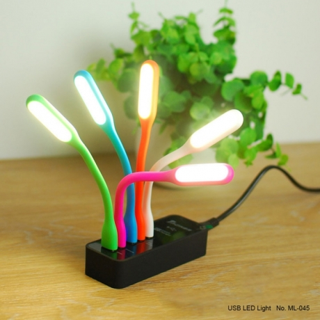 New design USB drive colorful led USB light