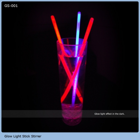 Drinking Cup 20cm Glow Stirrer