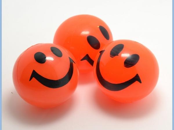 Good looking customized logo led blinking bouncing ball