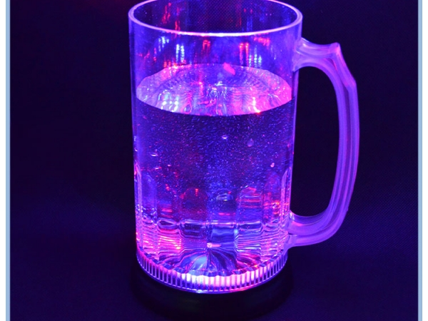 Hot Sell Cup For Bar Plastic Flashing LED Beer Cup