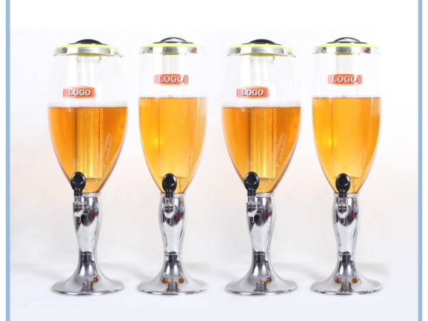 3L Drinking Dispenser Beer Tower