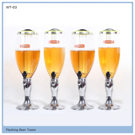 3L Drinking Dispenser Beer Tower