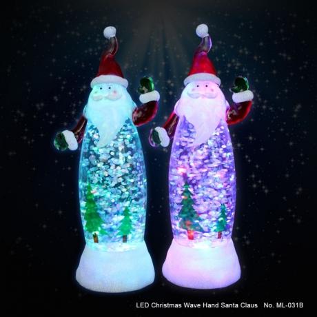 Craft LED acrylic LED Christmas Santa Claus