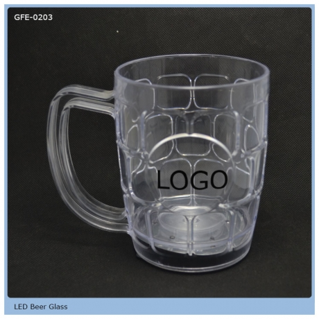 For Party Decoration Flashing LED Beer Mug