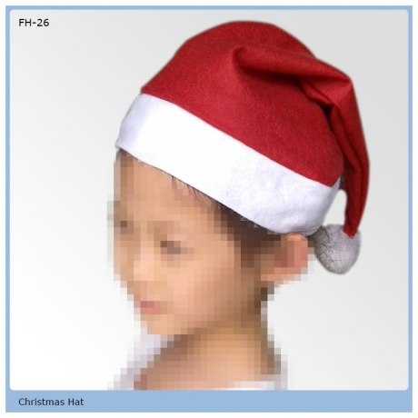 red Christmas decoration hat