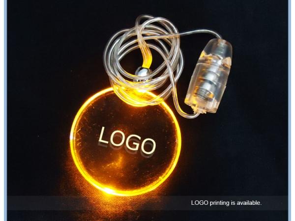 Party decoration best gift flashing led body necklaces