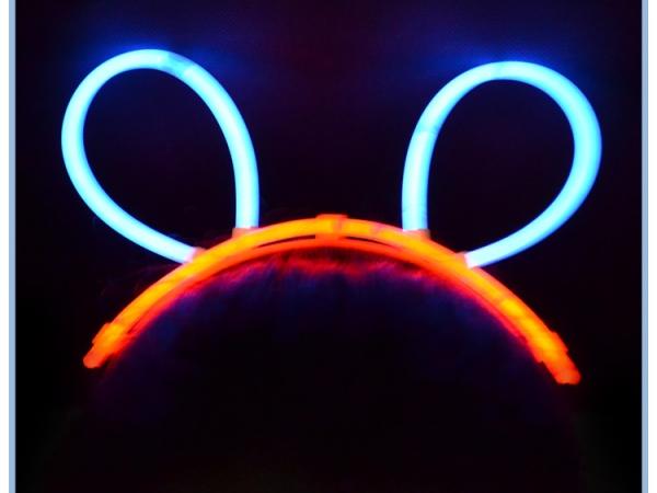 Party Decoration Glow bunny ear headband