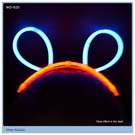 Party Decoration Glow bunny ear headband