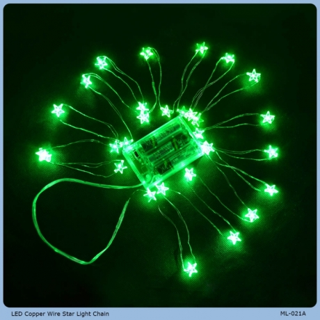 LED Copper Wire Star Light Chain