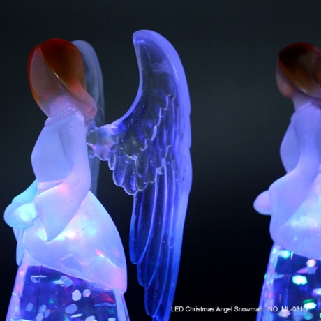 Party light new LED Christmas Angel Snowman