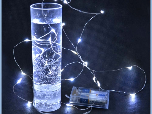 Cheap mini Christmas tree decoration LED light string