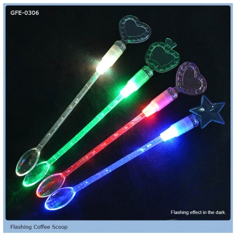 Colour Changing LED Flashing Stirrer