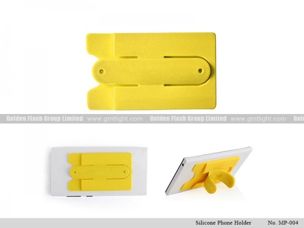 Non slip silicone mobile phone holder made for adults