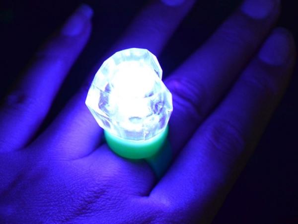 Promoted wholesale led flashing finger light for party