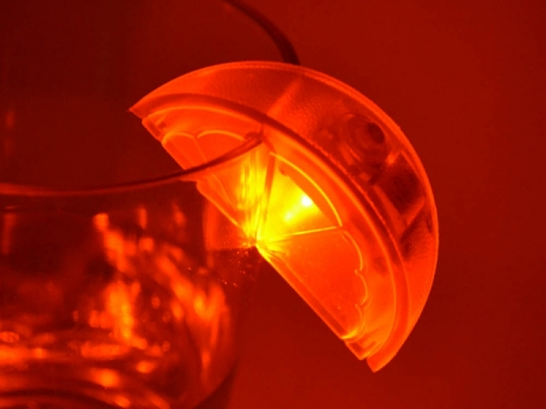 LED flashing lemon light