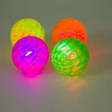 Hot sale durable elastic led pet toy ball for dog