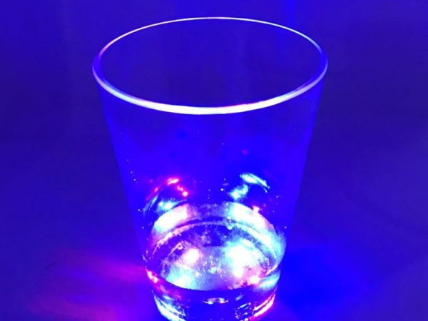 350 ml led light drink glass