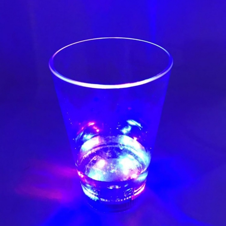 350 ml led light drink glass