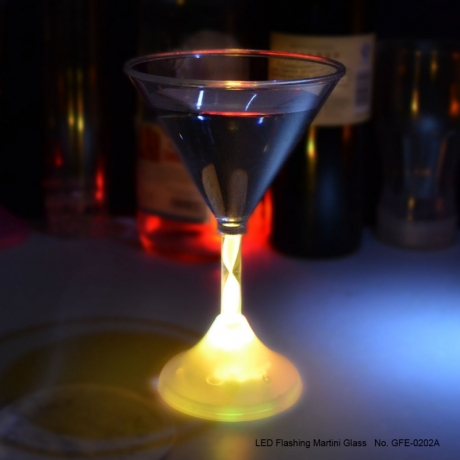 LED martini glass