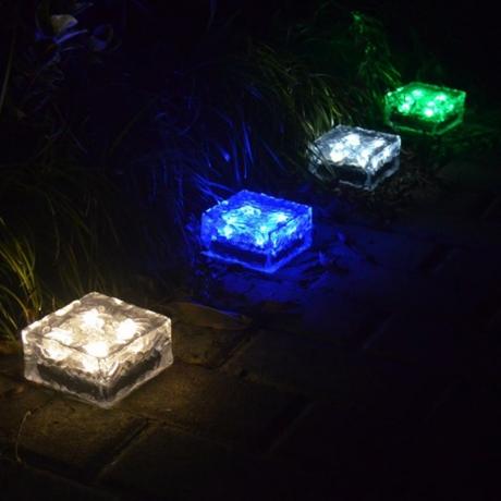 Waterproof Solar LED Brick Light